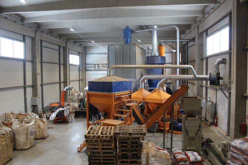 Proizvodnja peleta u Trnovu